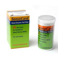 Bandelettes stériles Bandelettes SensoCard pour glucomètre parlant