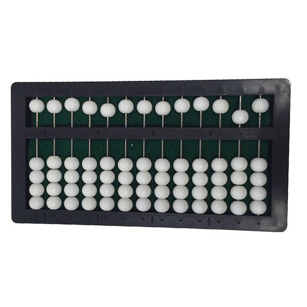 Boulier compteur Abacus pour aveugle ou malvoyant