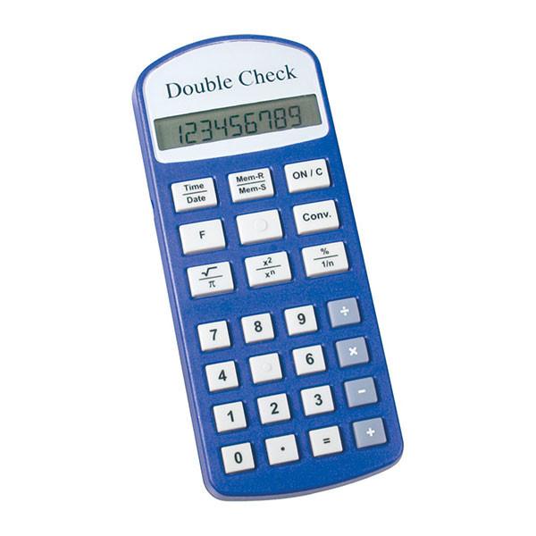 Calculatrice commerciale parlante DoubleCheck pour aveugle