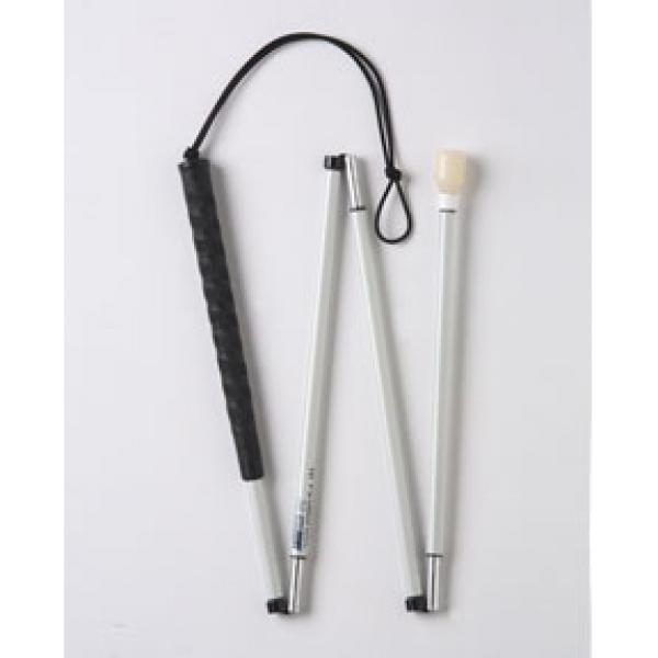 Canne blanche de mobilité graphite Ambutech pour aveugle