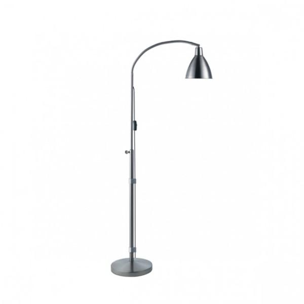 Lampe sur pied Flexi-vision argent Daylight 31067