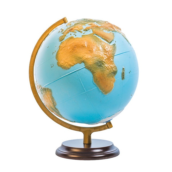 Globe terrestre tactile avec stylo parlant pour aveugle ou malvoyant