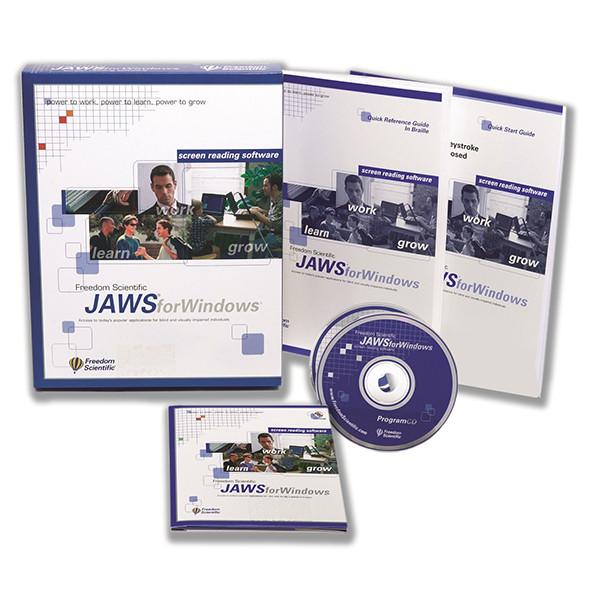 JAWS - Accès vocal à l'environnement Windows