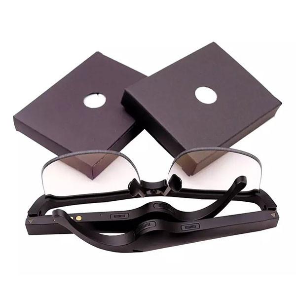 Lunettes-casque Bluetooth à conduction osseuse pour aveugle ou malvoyant