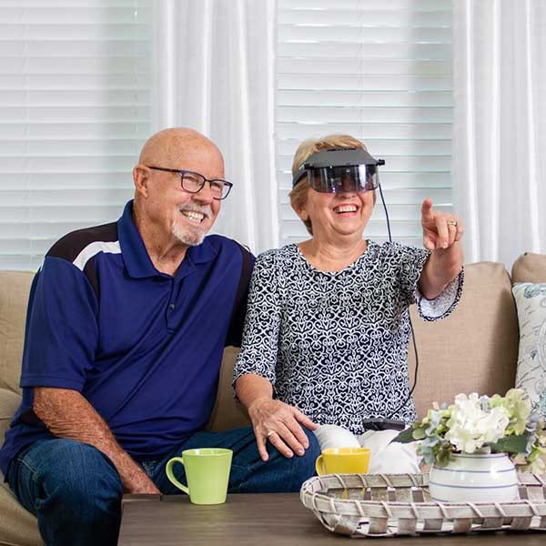 Lunettes à réalité augmentée Zoomax AR pour malvoyants