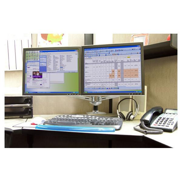 Bras LX Ergotron bi-écrans juxtaposés pour LCD