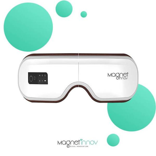 Masque de massage oculaire Magnet Relax 2.0 pour soulager les maux de tête