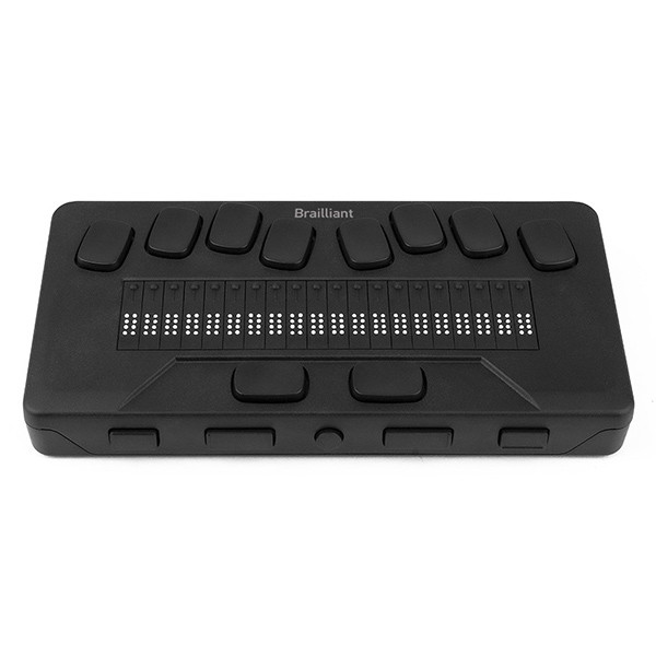 Afficheur braille dynamique Brailliant BI 20X pour aveugle
