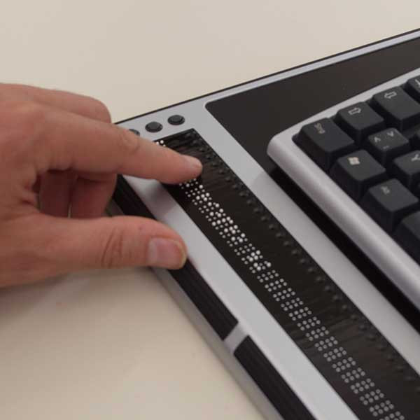 Plage braille modulaire professionnelle VarioPro pour aveugles