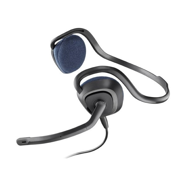 Micro-casque antibruit Plantronics audio 628 DPS commandes sur cordon