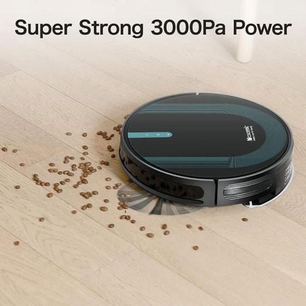 Aspirateur-laveur Robot Proscenic 850T accessible aux aveugles et malvoyants