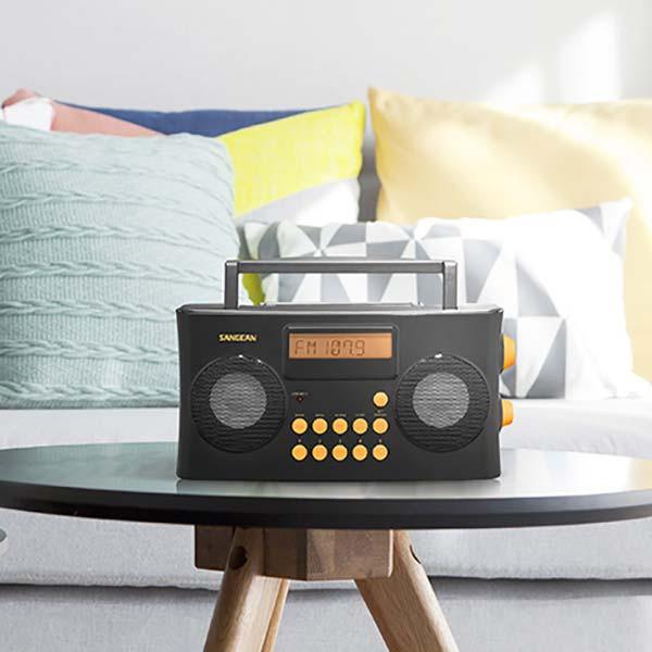 Radio-réveil parlant Sangean vocal 170 PR-D17 pour aveugle ou malvoyant