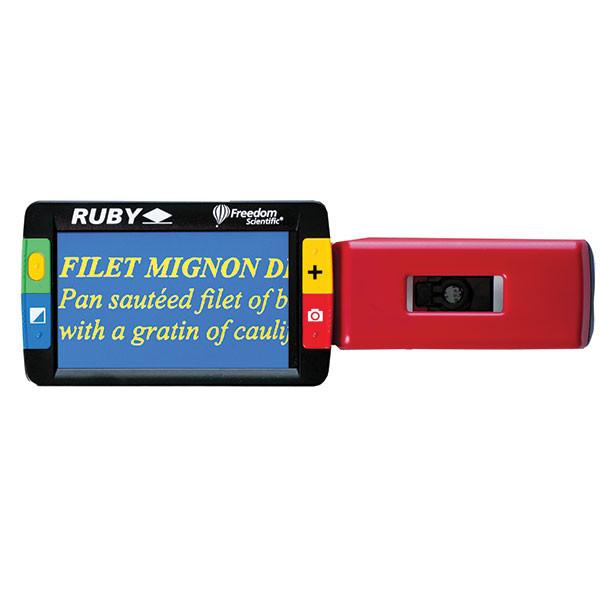 Vidéo Loupe Ruby - Loupe électronique pour malvoyant