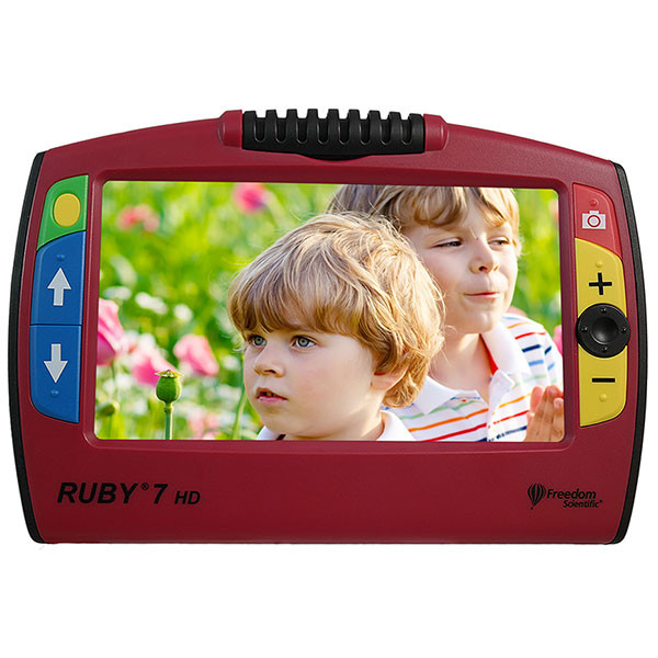 Vidéoloupe portable pour malvoyant Ruby 7 HD