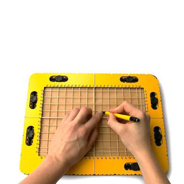 Planche à dessin pour déficient visuel TactiPad