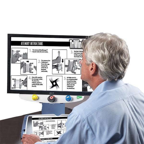 Téléagrandisseur connectable PC Topaz XL HD pour malvoyant