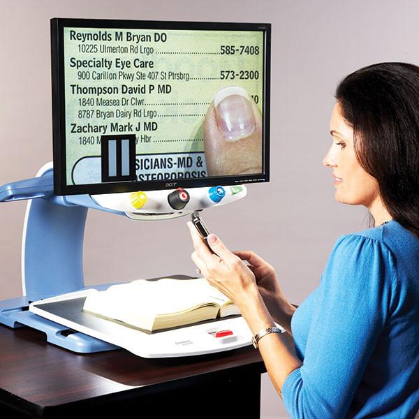 Téléagrandisseur Topaz Standard pour malvoyant (DMLA...)