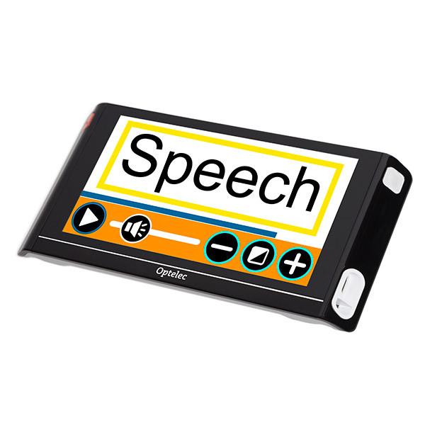 Vidéoloupe avec synthèse vocale Optelec Compact 6 HD Speech
