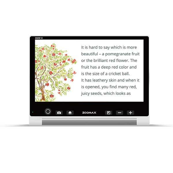 Loupe électronique parlante Snow 12 HD TTS