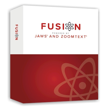 Logiciel de grossissement et de revue d'écran Fusion 2018