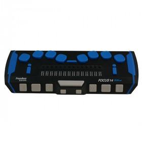 Plage braille Focus 14 Blue 5e génération