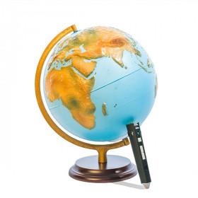 Globe terrestre tactile avec stylo parlant