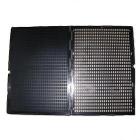 Tablette braille à cuvettes
