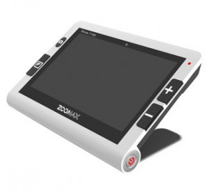 Loupe électronique d'occasion Zoomax Snow 7'' HD pour malvoyant