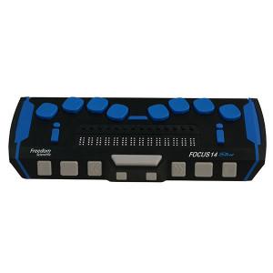 Plage braille Focus 14 Blue 5e génération de Freedom Scientific