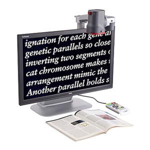 Téléagrandisseur GoVision vision de près et vision de loin pour malvoyant