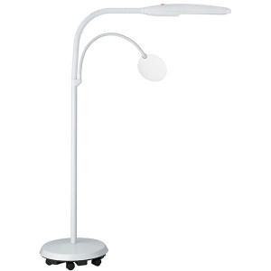 Lampe sur pied à roulettes basse-vision Swan Daylight 23031 pour malvoyant