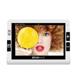 Vidéoloupe parlante Zoomax Snow 7 HD Plus TTS pour malvoyant