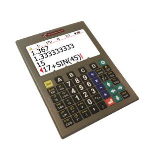 Calculatrice scientifique SciPlus 3200 avec grands caractères contrastés pour malvoyant
