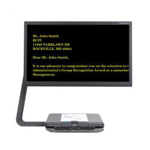Téléagrandisseur vocal haute définition ClearView C HD Speech pour malvoyant