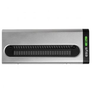 Plage braille esylight fabriquée par eurobraille en 24, 40 ou 80 cellules