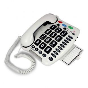 Téléphone amplifié grandes touches Geemarc AmpliPower 50 pour malvoyant, malentendant ou senior