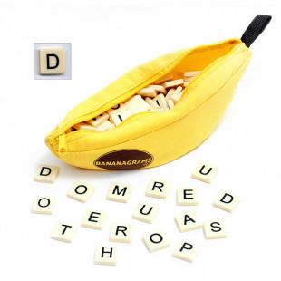 Jeu de lettres tactile et relief braille Bananagrams pour aveugle ou malvoyant