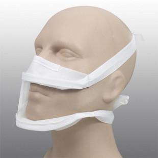 Masque inclusif transparent pour personnes sourdes ou malentendantes