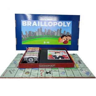 Monopoly en braille Braillopoly pour aveugle ou malvoyant