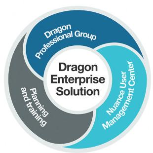 Logiciel de dictée vocale Dragon Professional Group