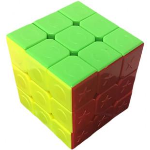 Rubik's cube en relief pour aveugle ou malvoyant